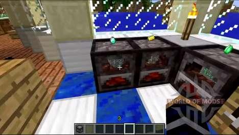 Un nouveau modèle de la cuisinière pour Minecraft