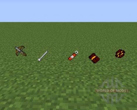 TuxWeapons pour Minecraft