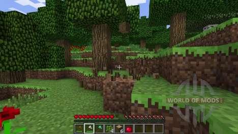 Leichtes Holz-Produktion für Minecraft