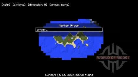Der Mini-Karte für Minecraft