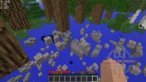 Cheat auf transparente Blöcke für Minecraft