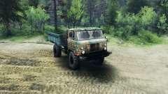 GAZ-66 v1.1 pour Spin Tires