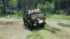 UAZ-3909 off-road-v2.0 für Spin Tires