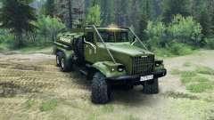 KrAZ-255B AC 8.5 Brennbaren v2.0 für Spin Tires