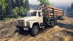 KrAZ-6437 CabCol v2 für Spin Tires