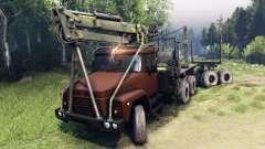 KrAZ-6437 CabCol v1 für Spin Tires