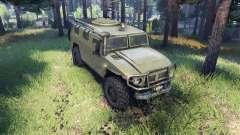 GAZ-2975 Tigre pour Spin Tires