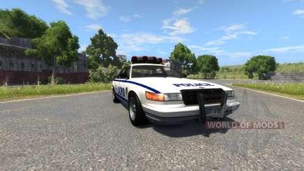 Vapid Police Cruiser für BeamNG Drive