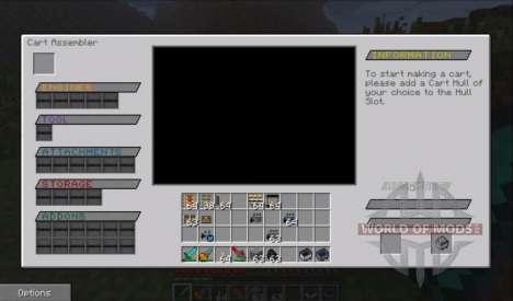 Neue trolley für Minecraft