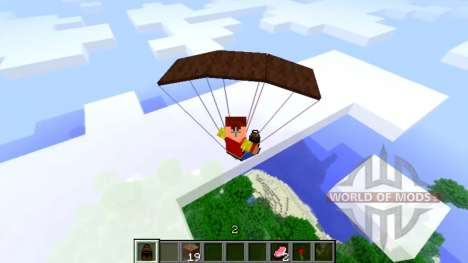 Parachute pour Minecraft