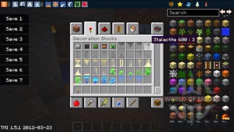 Der neue generator-Höhlen für Minecraft