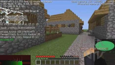 Informationen über die Dörfer für Minecraft
