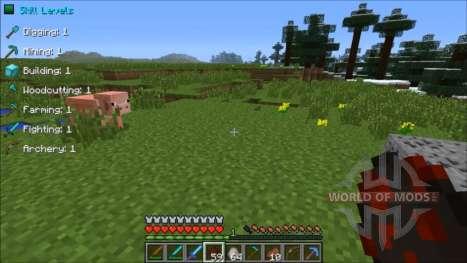 Nouveau niveau pour Minecraft