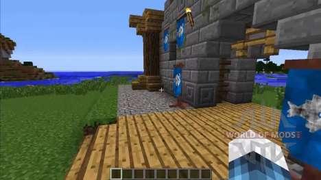 L'héraldique pour Minecraft