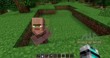 Entfernen Sie die Nase von Anwohnern für Minecraft