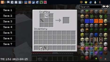 Waffen für Minecraft
