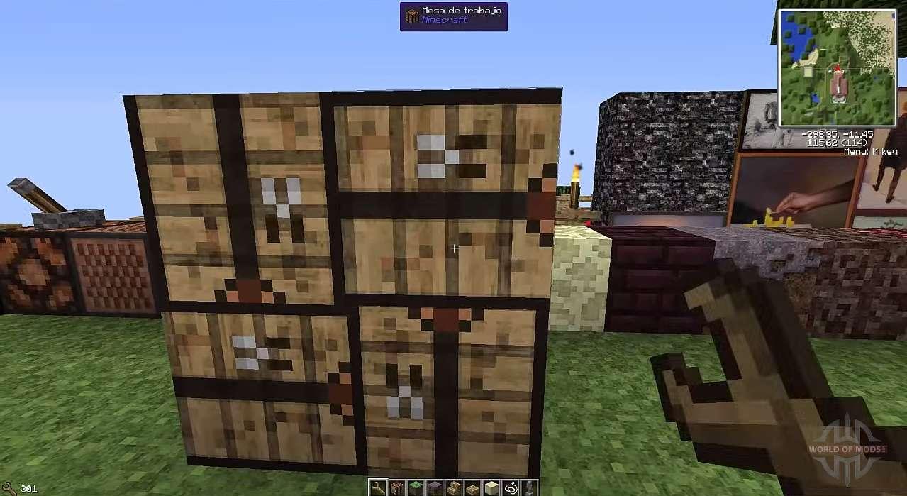Flipping Blöcke für Minecraft