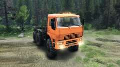 KamAZ-6520 Monster für Spin Tires