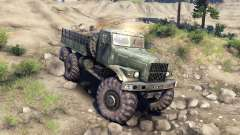 KrAZ-255 Monster für Spin Tires