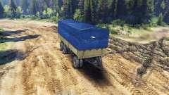 Caravane pour les ZIL-133 G1 et ZIL-133 GA pour Spin Tires