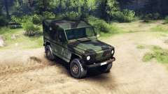 Mercedes-Benz 250GD Wolf pour Spin Tires