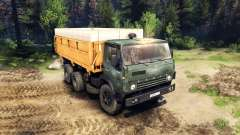 KamAZ-55102 v3.0 für Spin Tires