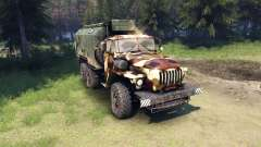 Ural-4320 camo v2 für Spin Tires