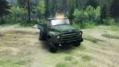 ZIL-130 in einer neuen Farbe für Spin Tires