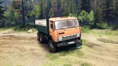 KamAZ-55102 v2.0 pour Spin Tires