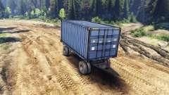 Trailer-container für ZIL-133 G1 und ZIL-133 GA für Spin Tires