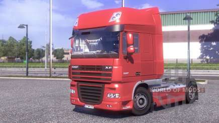 DAF XF 105.510 Jelle Schouwstra pour Euro Truck Simulator 2