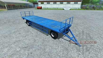 Remorque pour palettes LÉZARD pour Farming Simulator 2013