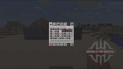 Nouveau minerai pour Minecraft