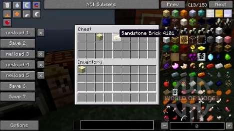 Nouveau minerai, de nouveaux butins pour Minecraft