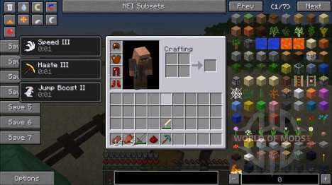 Armor-mob pour Minecraft