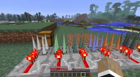 Secret boutons pour Minecraft