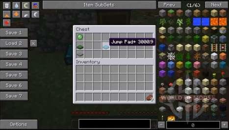 Plattform springen für Minecraft