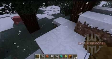 Schneefall für Minecraft
