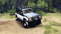 Nissan Patrol Y60 pour Spin Tires
