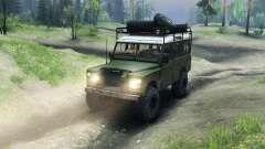 Land Rover Defender Series III v2.2 Olive für Spin Tires