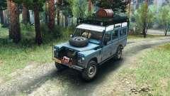 Land Rover Defender Series III v2.2 Blue für Spin Tires