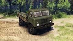GAZ-66-LKW :  für Spin Tires