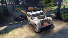 Land Rover Defender Series III v2.2 White für Spin Tires