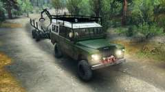 Land Rover Defender Series III v2.2 Green für Spin Tires