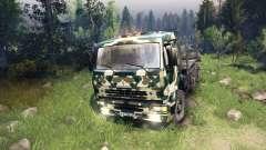 KamAZ-6520 camo v4 pour Spin Tires