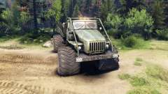 Ural-4320 Explorateur Polaire v1.2 pour Spin Tires