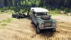 Land Rover Defender Series III v2.2 Cyan pour Spin Tires