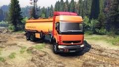Renault Premium Orange für Spin Tires
