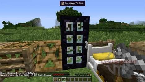 Zimmermann Blöcke für Minecraft