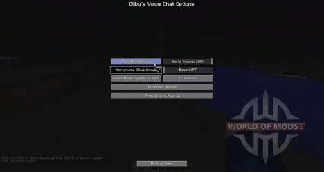 Voice-chat für Minecraft